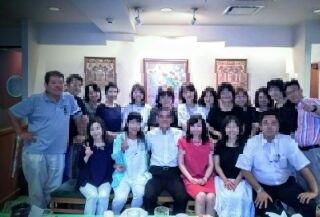 神田での神田での同窓会(プライバシー保護のため、写真を加工しています)