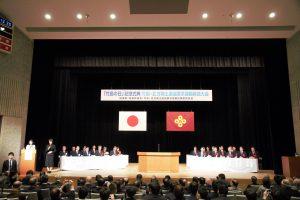 島根県「竹島の日」記念式典。今年も安倍首相、領土担当大臣、副大臣は出席しなかった。