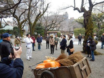寒い朝だったにも拘らず、約60名の皆さんが集まってくださった。