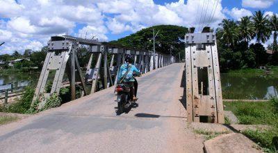 大東亜戦争中に日本軍が造った「日本橋」。ミャンマー人はジャパン・ダダーと呼んでいる。