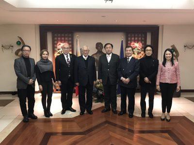 フィリピン大使館を表敬訪問